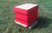 Colmena de la abeja de Langstroth marco de 10