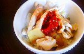 Pollo con arroz de jengibre Chile