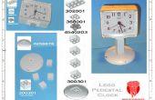 LEGO reloj de Pedestal