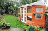 Cómo construir un Summerhouse a medida de madera recuperada y ahorre cientos!