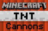 Cómo crear una flecha de Minecraft TNT cañón - edición de bolsillo de