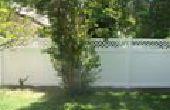 Actualizar su espacio al aire libre con cercas de vinilo