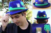 DIY Sonic el Hedgehog sombrero