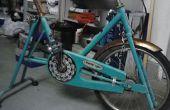 Restaurar vintage bicicleta estacionaria