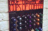 Soporte de cápsulas de café