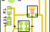 Regulado de 9V a 5V fuente de alimentación - SMD