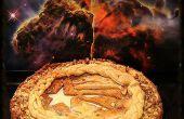 El Infinity∞Pie (empanada de granola-caramel apple cheesecake)
