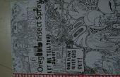 Nuevos cuadernos viejos cuadernos de espiral de