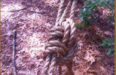 Trastos de la cuerda para su uso pionero (tirón del camionero)