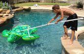 PVC piscina herramienta (gancho de pastor DIY)