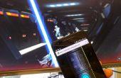 Convierte el Smartphone en la consola de sable de luz para Lighsaber Escape juego