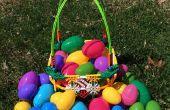 Hacer una cesta de huevos de Pascua de K'nex!