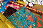 Diez aplicaciones para papel de regalo usado