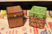 Los tarros de galleta de Minecraft seguro lavavajillas