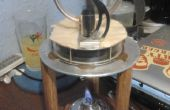 Placa caliente del motor Stirling, empujando la envolvente de un motor de Stirling LTD barato