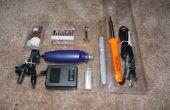Forma fácil de organizar y almacenar herramientas para casi gratis!