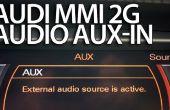 Activación de AUX estérea en Audi MMI 2G