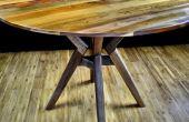 Cómo hacer una mesa redonda con una sierra circular