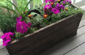 Caja jardinera asequible