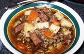 Venison, Wild Rice, and Brown Ale Stew