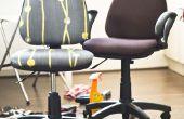 Dar a esos viejo escritorio sillas nueva vida!