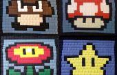 Pixel arte bolsos de costura