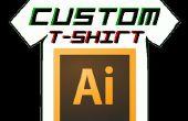 Cómo pulsar un diseño a una t-shirt(Vinyl)