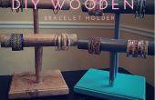 DIY pulsera de madera titulares