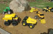 Conversión de camiones RC de Tonka con descarga y manejo de Quad 4WS