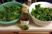 Kale Chips hechas en casa