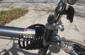 Donde esconder la llave de la cerradura de una bicicleta