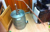 Construir un barrilete todavía de Whiskey (diseño todavía del pote)