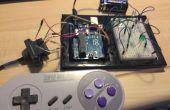 Hacer un juego SNES controlador basado en Arduino