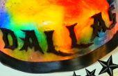 Letras decorativas comestibles