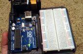Todo en una placa de prototipos para Arduino Uno