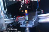 Impresora 3D extrusión caliente extremo actualización