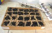 Bandeja de arranque de plántulas de vivero/invernadero