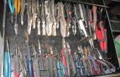 Organización de caja de herramienta barata