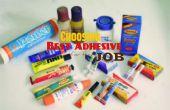 Elegir el mejor adhesivo para el trabajo