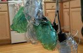 Lámpara de botella de soda