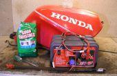 ¿Eliminación de moho de la electrólisis - tanque de combustible de motos