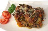 Gluten-libre deliciosa berenjena parmesano