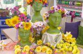 Coronas de flores cabeza--una tradición de San Juan
