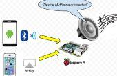 Frambuesa combo receptor de Audio Bluetooth + Airplay Pi