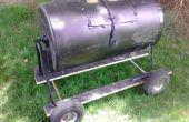 Compostador de barril