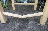 Reparar una silla rota peldaño