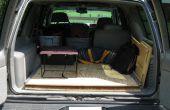 Deslizador de plataforma de área de carga para SUV, carro, carro de la estación