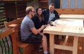 Laminado madera mesa