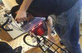 Bicicleta Solar/Dinamo cargador USB + luces de cola