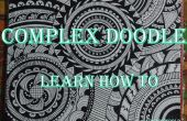 El Mandala de imposible Doodle Art Design